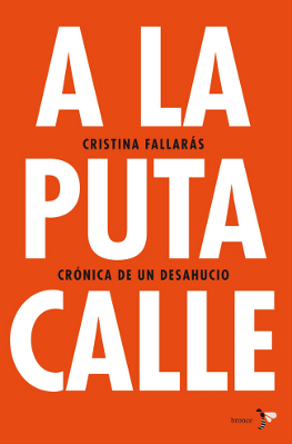 A la puta calle - Cristina Fallarás