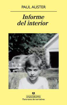 Informe del interior – Paul Auster