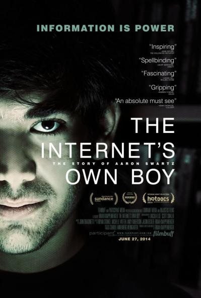 The Internet's Own Boy, The Story of Aaron Swartz (2014)